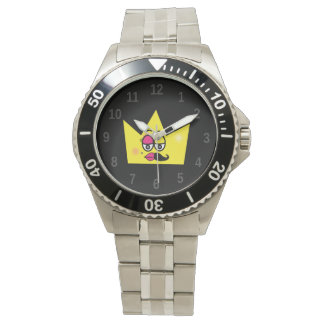 Clock Stainless Steel Bracelet - Transgênero Watch