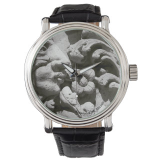 Clock Stone Watch