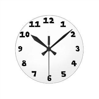 Clock Template 0108
