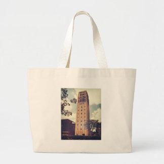 Clock Tower Tote Bags