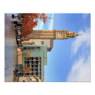Clock tower in Belfast Photograph