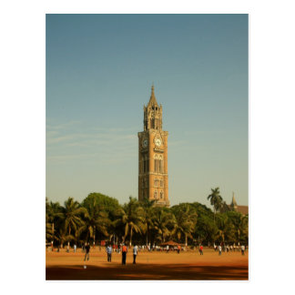 Clock Tower in Mumbai Postcard