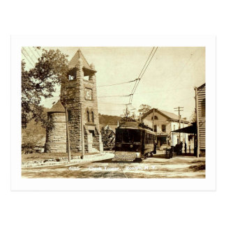 Clock Tower, Roslyn, Long Island, NY Vintage Postcard