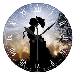 Clockart  (39) large clock