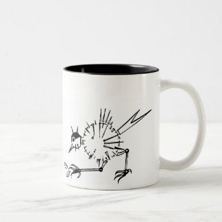 ClockBird Two-Tone Coffee Mug