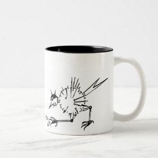 ClockBird Two-Tone Mug
