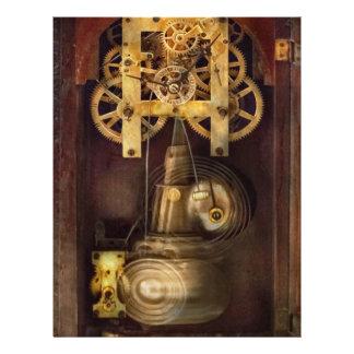Clockmaker - The Mechanism Flyer Design