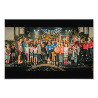 Clockmaker's Daughter #22 (Whole Cast) Photo Print