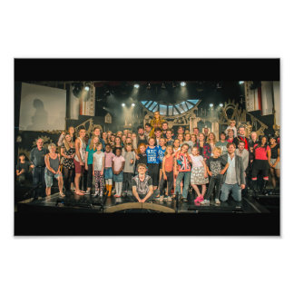 Clockmaker's Daughter #23 (Whole Cast) Photo Print