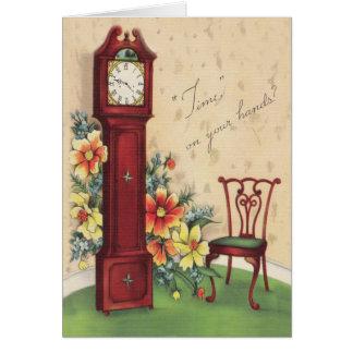 Clocks Get Well Card