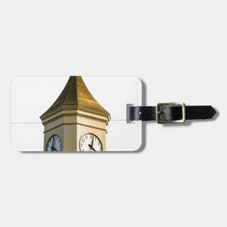 Clocktower Luggage Tag