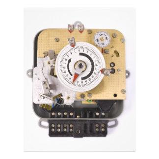 clockwork 21.5 cm x 28 cm flyer