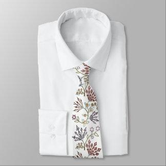 Clockwork Floral - CUSTOM COLOR Tie