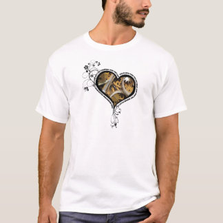 Clockwork heart design T-Shirt