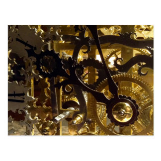 Clockwork Masterpiece Postcard