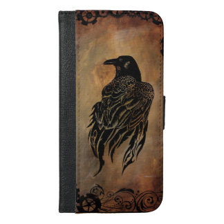 Clockwork Raven iPhone 6/6s Plus Wallet Case