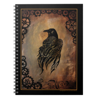 Clockwork Raven Notebook
