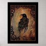 Clockwork Raven Posters