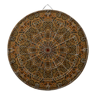 Clockwork Vintage Kaleidoscope Dartboard
