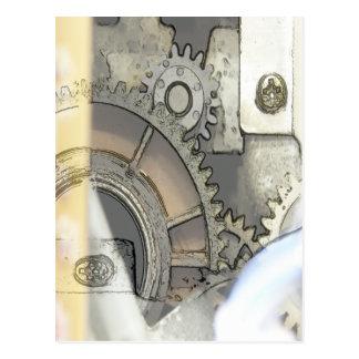 clockworkcolor postcard