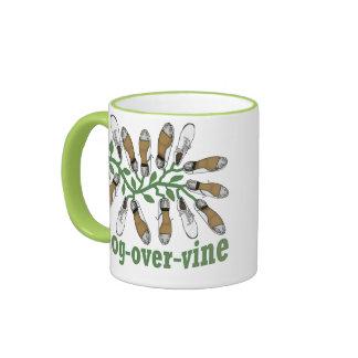 Clog Over Vine Dance Coffee Mug