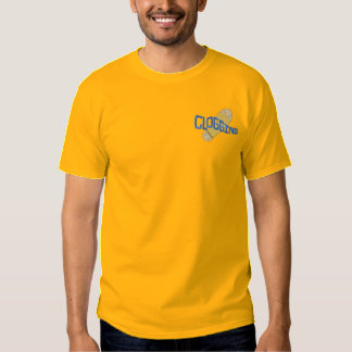 Clogging Embroidered T-Shirt