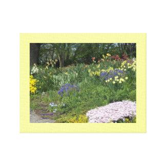 Cloisters Gardens 5 Canvas Print