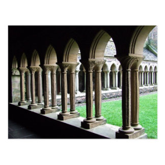 Cloisters, Iona Abbey Postcard