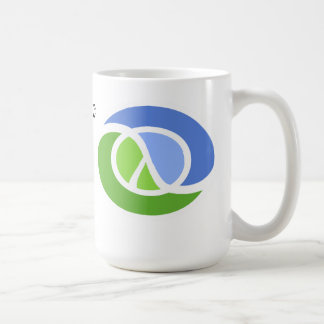 Clojure mug: I get more done when I'm lazy (v2) Coffee Mug