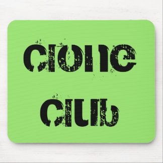 Clone Club from tv show Orphan Black Mouse Pad