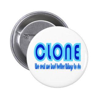 CLONE Halloween Costume Design Pin