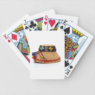 clop traditional hat bicycle playing cards