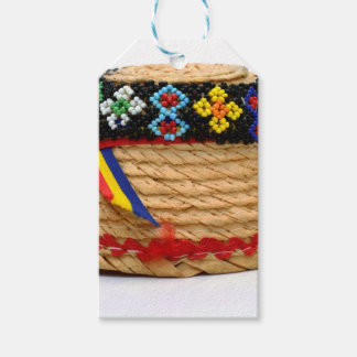 clop traditional hat gift tags