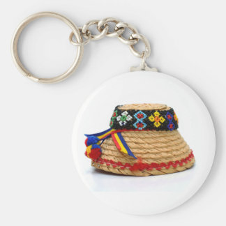 clop traditional hat key ring
