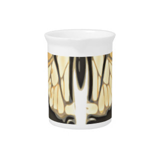 close Butterfly Pitcher