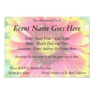 Close up - Blanket Flower Bloom 13 Cm X 18 Cm Invitation Card