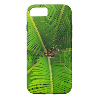 Close-up Green Palm Leaves iPhone 7 Case