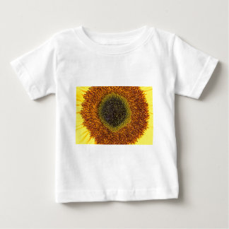 Close up heart of sunflower baby T-Shirt