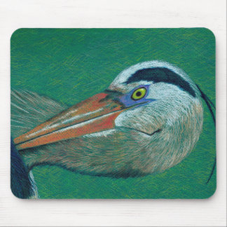 Close Up Heron Mouse Pad