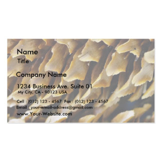 Close Up Image Of A Cone Business Cards