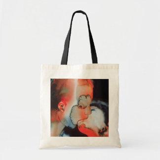 Close-up Kiss 1988 Tote Bag