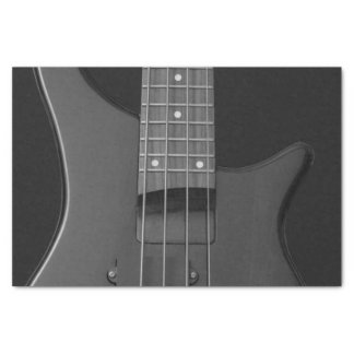 Close-Up Music Bass Guitar Strings and Frets Tissue Paper