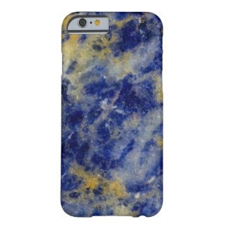 Close up of a Blue Sodalite Barely There iPhone 6 Case