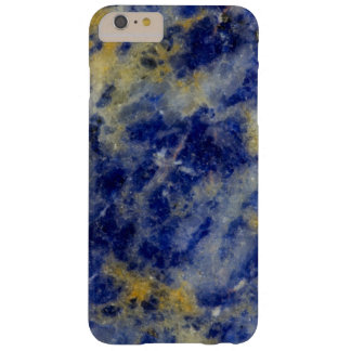 Close up of a Blue Sodalite Barely There iPhone 6 Plus Case