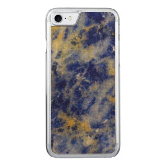 Close up of a Blue Sodalite Carved iPhone 8/7 Case