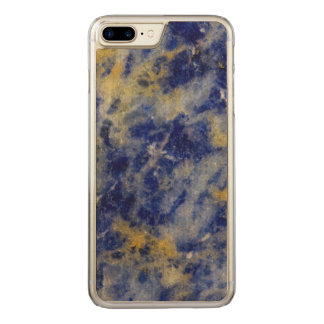 Close up of a Blue Sodalite Carved iPhone 8 Plus/7 Plus Case