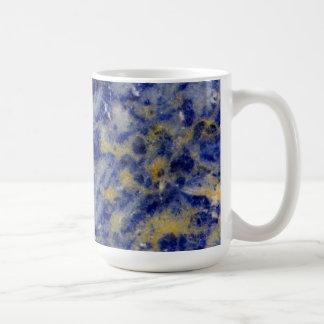 Close up of a Blue Sodalite Coffee Mug