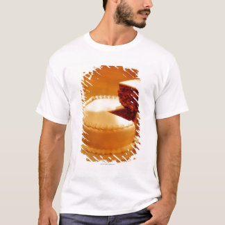 close-up of a cut piece of cake being taken out T-Shirt