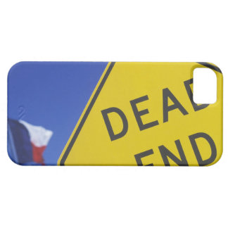 Close-up of a dead end sign, Texas, USA iPhone 5 Cases