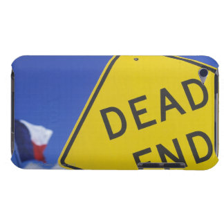 Close-up of a dead end sign, Texas, USA iPod Touch Cases